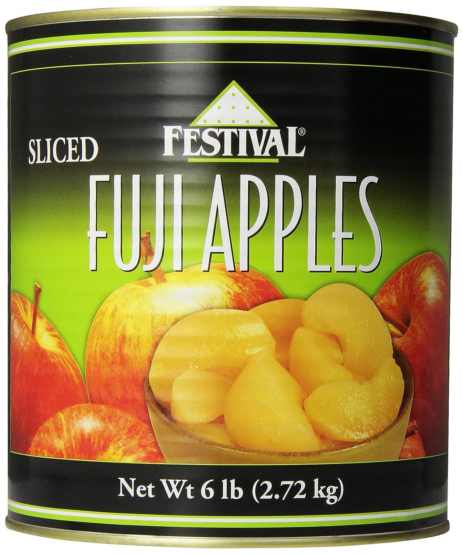 Festival Sliced Fuji Apples, 6-Pound (Pack of 2)