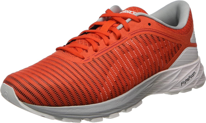 Asics Dynaflyte 2, Zapatillas de Entrenamiento Hombre, Rojo (Cherry Tomato / White / Mid Grey), 40.5 EU: Amazon.es: Zapatos y complementos