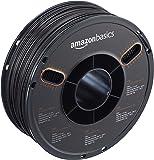 AmazonBasics – Filamento de ABS para impresora 3D, 1,75mm, Negro, bobina de 1kg