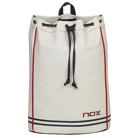 Bolsa Saco pádel Nox Street White: Amazon.es: Deportes y aire libre