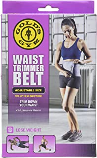 6e02c87c18 Amazon.com  Golds Gym waist trimmer belt - Adjustable size fits up ...