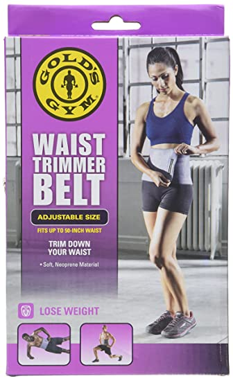 2873aa6474 Image Unavailable. Image not available for. Color  Gold s Gym Waist Trimmer  Belt