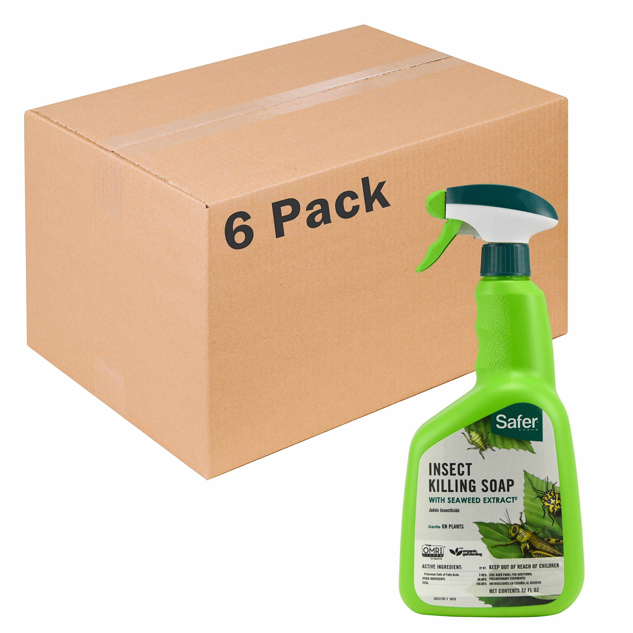 Safer Brand insect Killing Soap 32oz RTU - 6 pack 5110-6