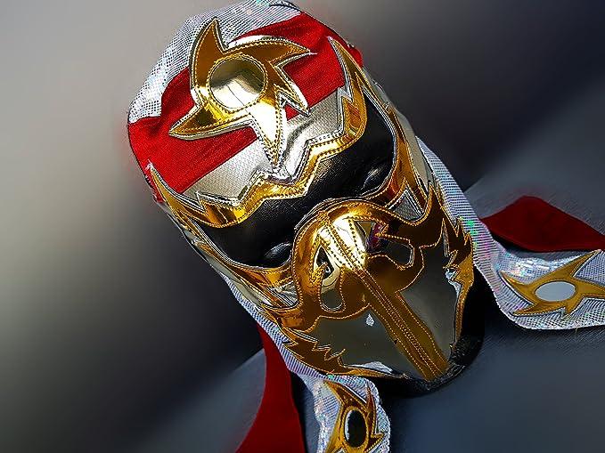 Hayabusa Luchador máscara de lucha libre disfraz de máscara de luchador lucha libre mexicana máscara: Amazon.es: Deportes y aire libre