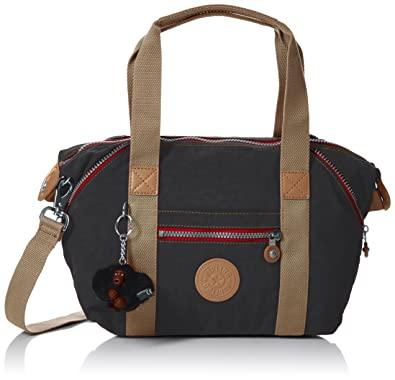 Damen Art Mini Henkeltasche, Schwarz (True Black), 34x21x18.5 cm Kipling