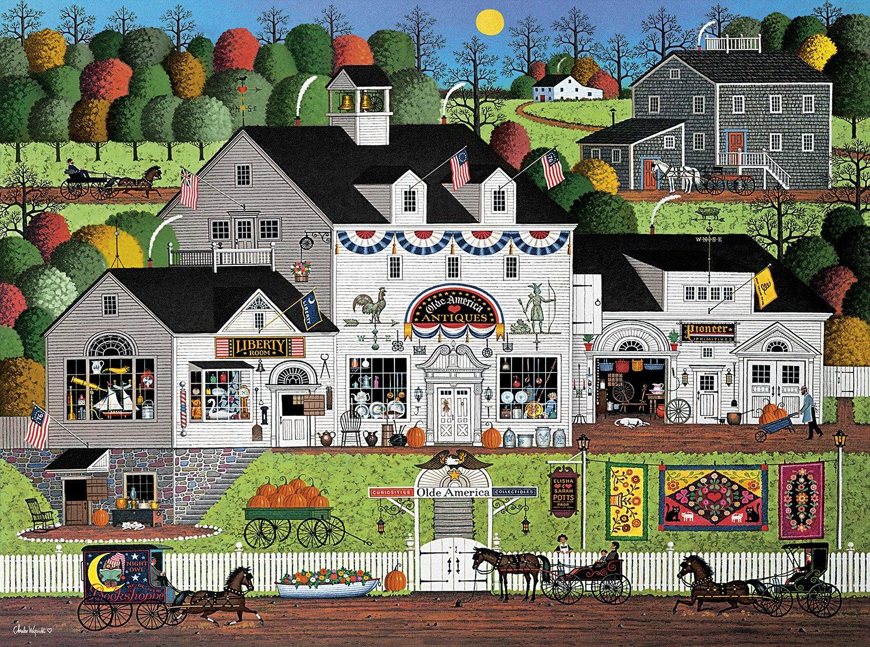 Buffalo Games - Charles Wysocki - Olde America - 1000 Piece Jigsaw Puzzle