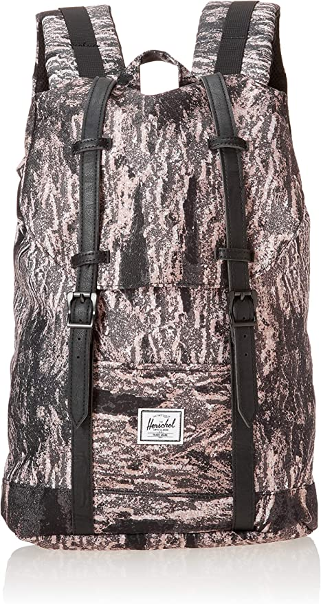 picked up undefeated x many fashionable Herschel Supply Co. Retreat Mid-Volume Backpack, Ash Rose Desert ...