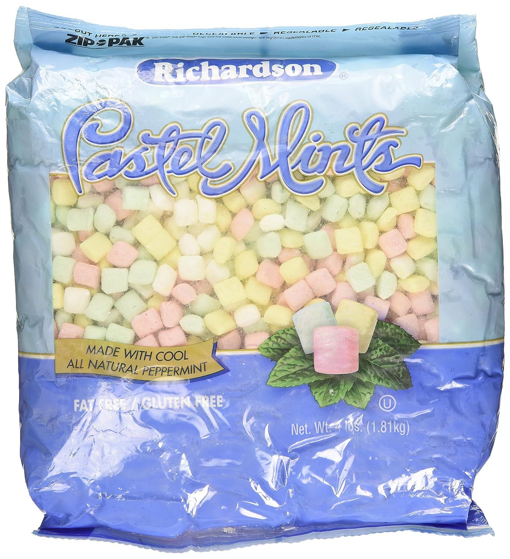 Amazon Richardson Pastel Mints 4lbs Bag Candy Mints