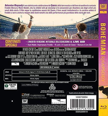 Bohemian Rhapsody [Italia] [Blu-ray]: Amazon.es: Lucy Boynton, Tom ...