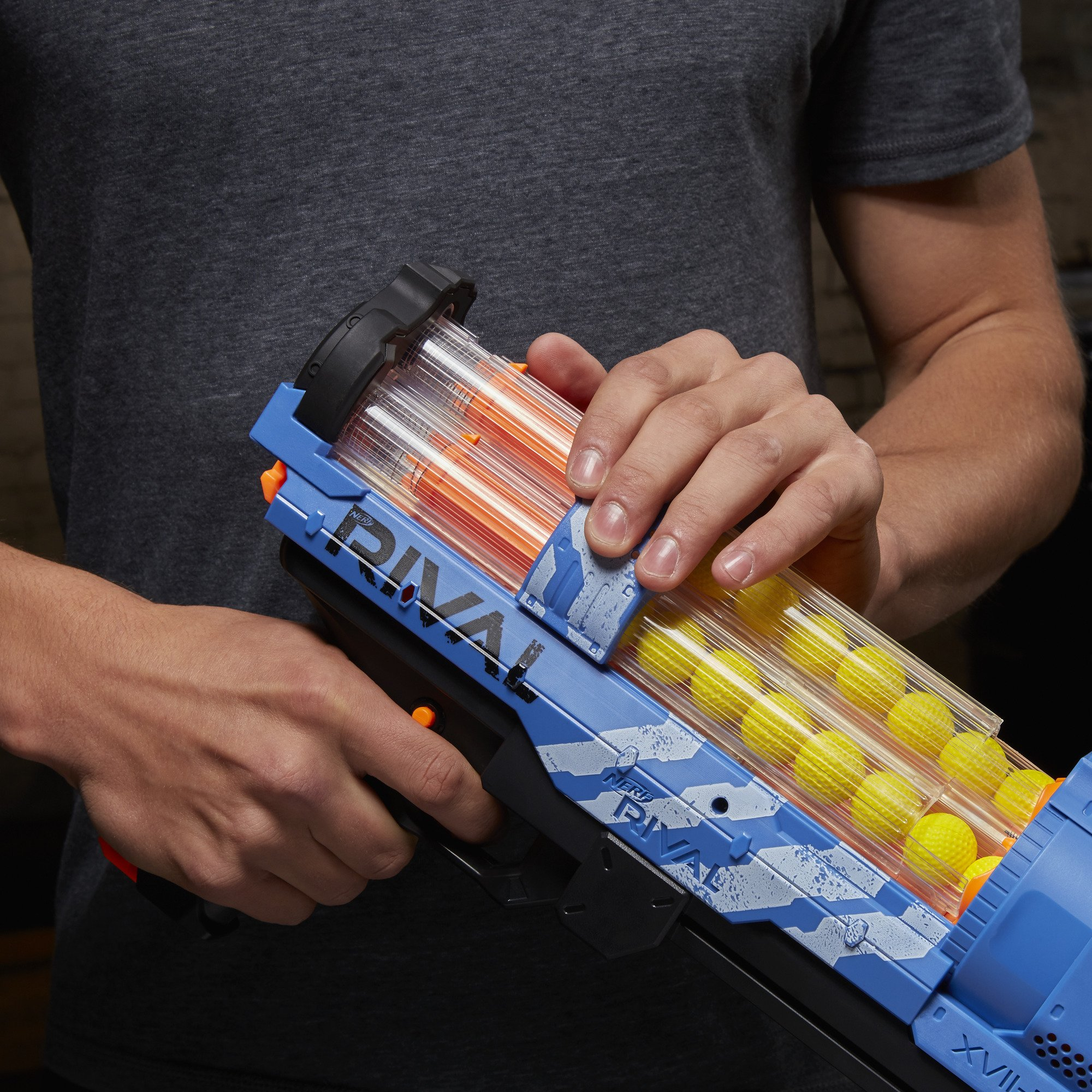 NERF Rival Artemis XVII-3000 Blue by NERF (Image #4)