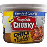 Campbell's Chunky Chili, Beef & Bean Roadhouse, 15.25 Ounce (Pack of 8)