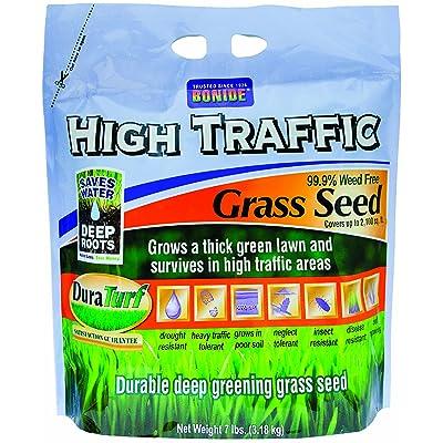 Bonide 60284 High Traffic Grass Seed, 7-Pound : Grass Plants : Garden & Outdoor