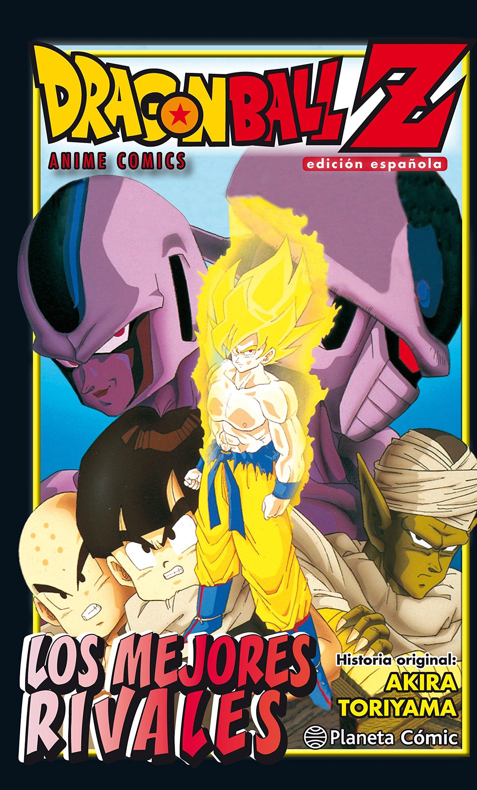 Dragon Ball Z Los mejores rivales (Manga Shonen): Amazon.es: Toriyama, Akira, Daruma: Libros