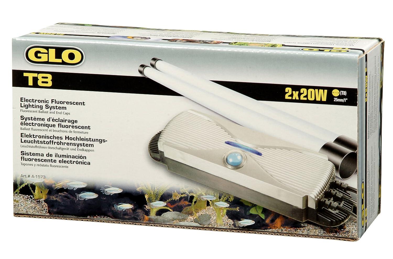 Vorschaltgerät Aquarium Beleuchtung   Glo T8 Vorschaltgerat 2x 30 Watt Amazon De Haustier