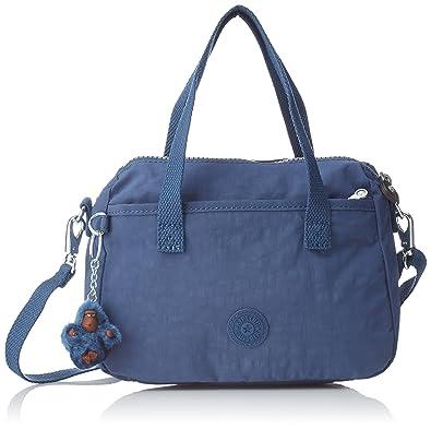 Kipling EMOLI, Bolsa de Asa Superior para Mujer, Azul, 23.5x18x12 cm: Amazon.es: Zapatos y complementos
