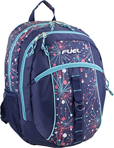 Fuel Sport Active Multi-Functional Backpack, Blue Mint Star Print