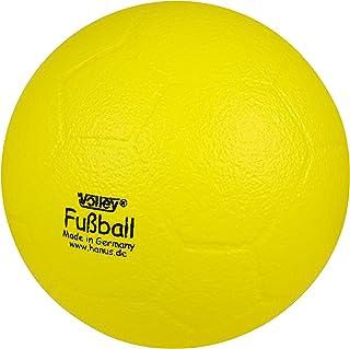 Volley Softball Fussball mit Elefantenhaut, Ø ca. 21 cm Gewicht ca. 220 g, Farbe gelb, Sprungverhalten ooo