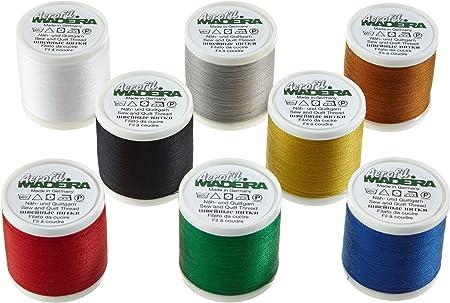 Madeira 8017 Aerofil - Caja de Hilos de Costura (8 bobinas de 400 ...