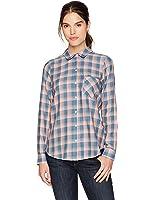 William Rast Women's Dakota Convertible Button Front Shirt