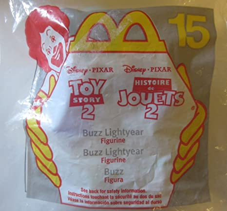 McDonalds Happy Meal Disney/Pixar Toy Story 2 Buzz Lightyear Figure #15