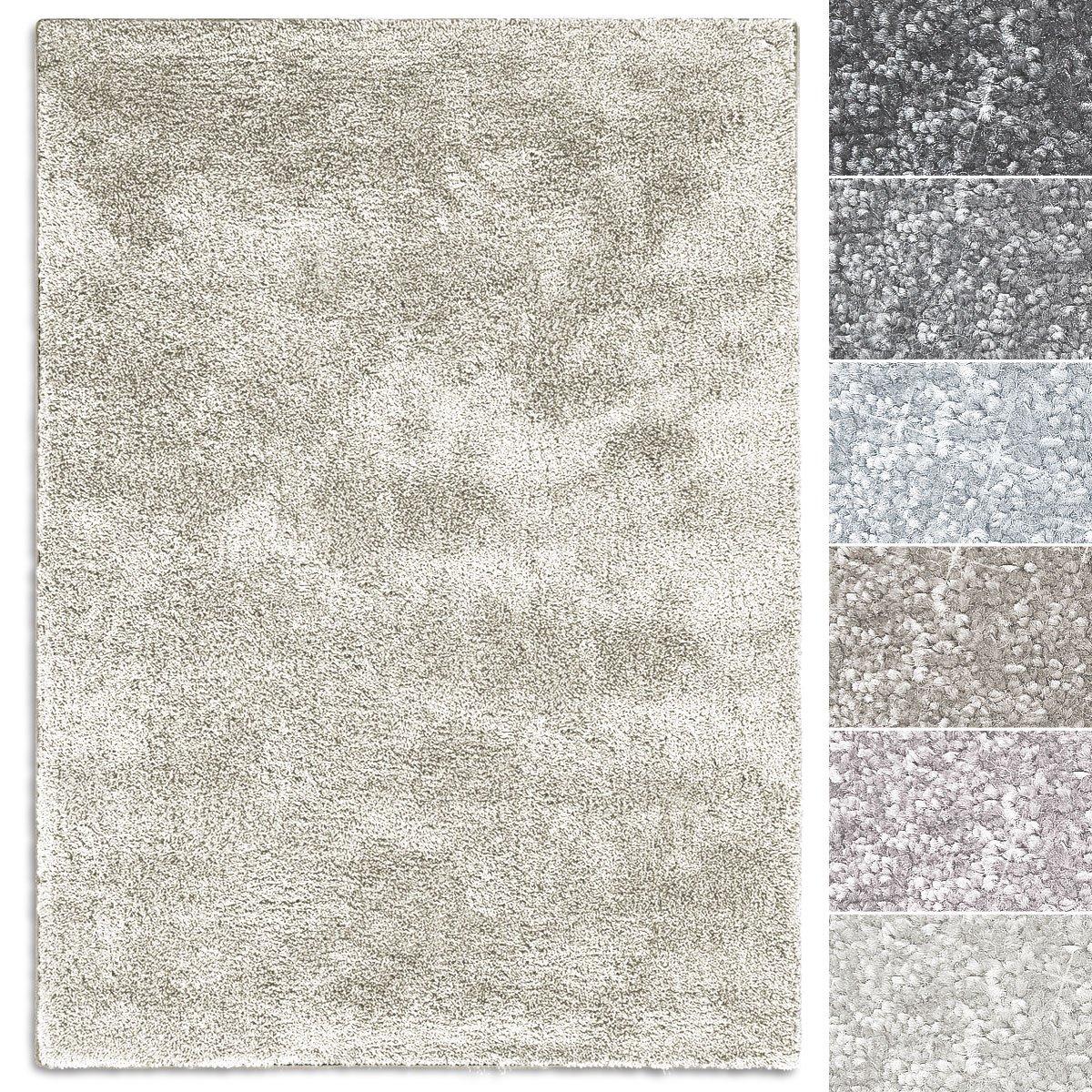 Casa pura Teppich Sundae   viele Größen   pflegeleicht kuschlig weich   Flurteppich, Wohnzimmerteppich, Küchenteppich, Schlafzimmerteppich (Creme - 160x230 cm)