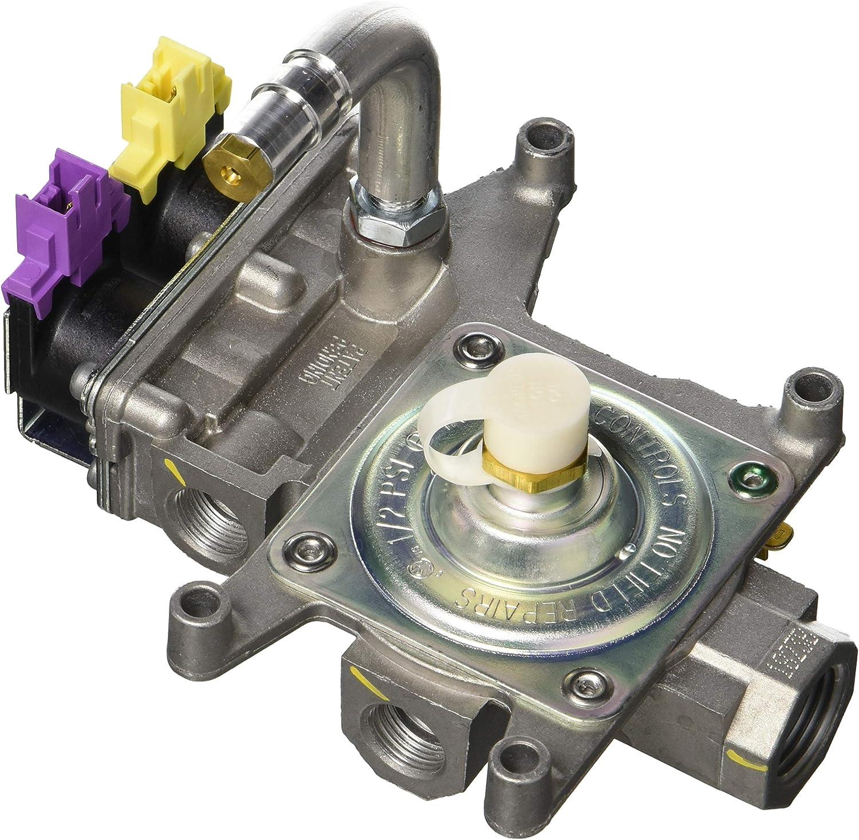 Genuine Whirlpool W10602001 Range Gas Control Valve Genuine Original Equipment Manufacturer (OEM) Part for Whirlpool, Maytag, Amana, IKEA