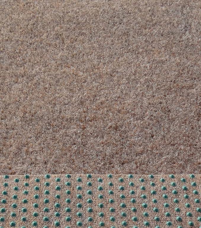 Rasenteppich Kunstrasen Comfort hellbraun 400x290 cm