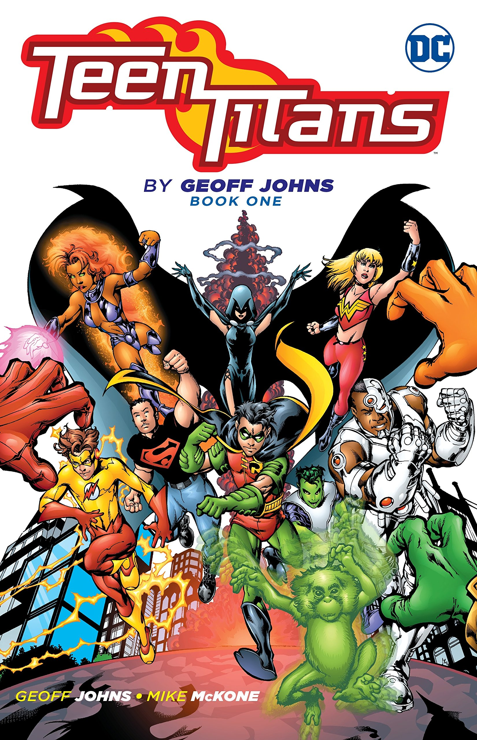 Amazon.com: Teen Titans by Geoff Johns Book One (9781401265984): Johns,  Geoff: Books