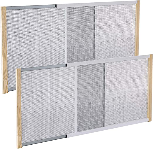 "45/"" Frost King AWS1845 WB Marvin Adjustable Window Screen 18/"" x 25/"""
