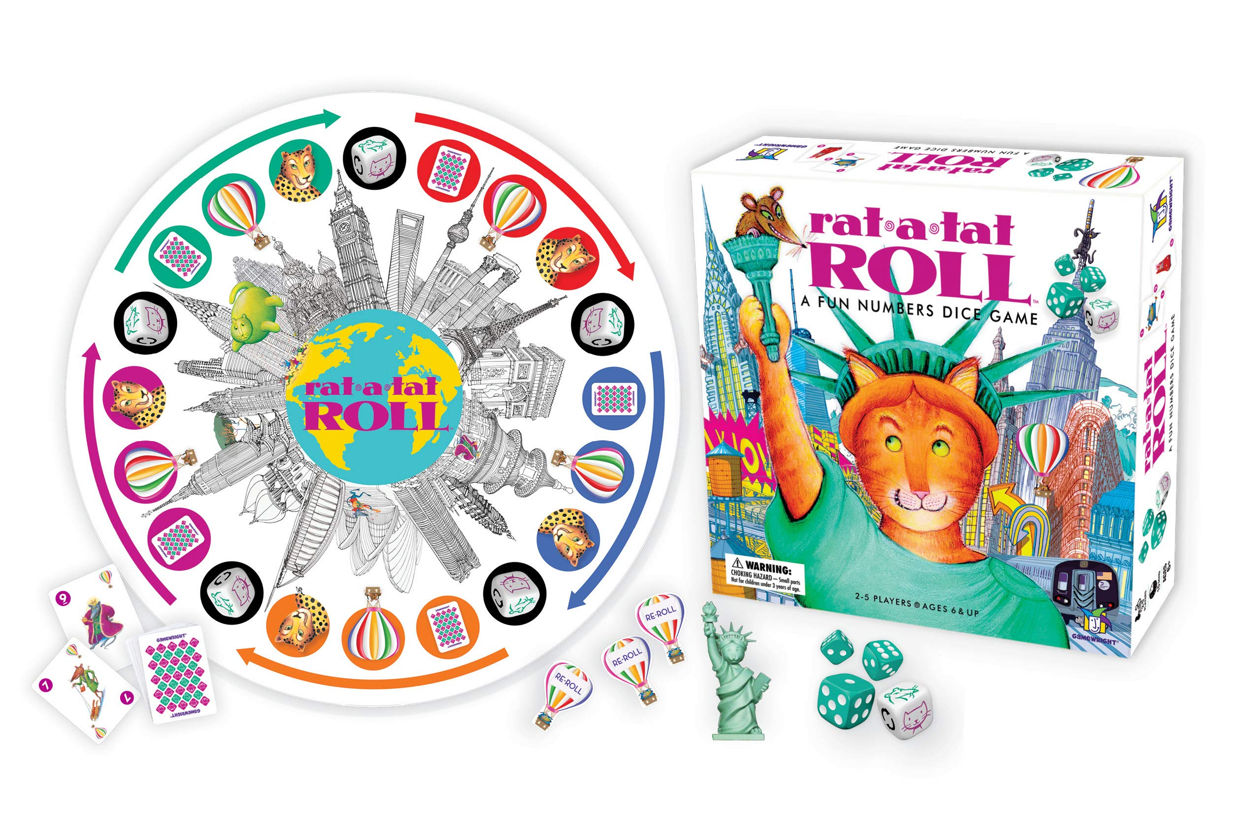 Rat-A-Tat Roll - A Fun Numbers Dice Game