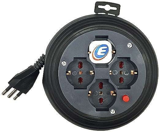 72 opinioni per Electraline 49019 prolunga elettrica con avvolgicavo 4 mt 4 prese polivalenti