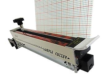 Laser Zig Zag gamuza de Swatch muestra cortador de máquina de corte de tela tejido: Amazon.es: Bricolaje y herramientas