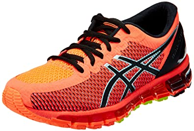 reputable site 26560 c33a8 ASICS Women s Gel-Quantum 360 2 Flash Coral, Black and Silver Running Shoes  -