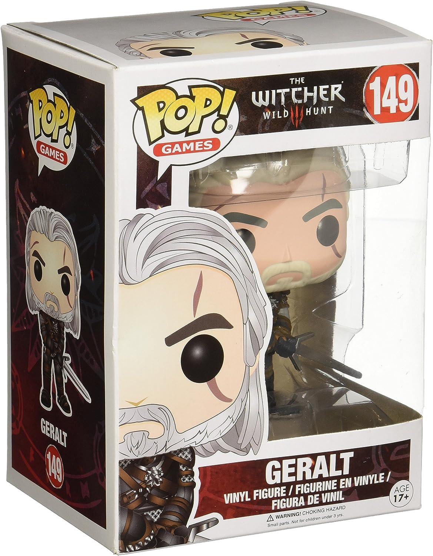 Funko Pop!- Geralt Figura de Vinilo, colección de Pop, seria The ...