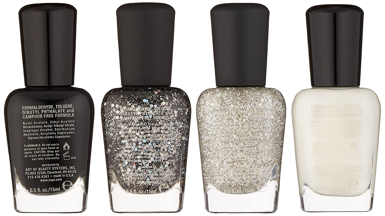 Amazon.com: Zoya Polish Quad Nail Polish, Winter Wishes: Luxury Beauty