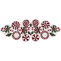Christmas Table Runners 36 Inches, Candy Beaded Table Runner, Table Mats for Kitchen Table - Home Decor Mat for Harvest…