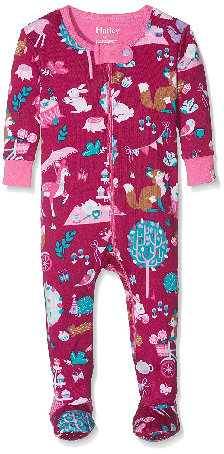 Hatley Baby Girls' Sleepsuit DR5TEAS212
