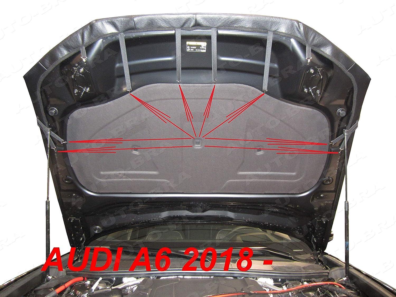 AB3-00260 CARBON OPTIK Bonnet BRA f/ür S6 A6 C8 seit 2018 Haubenbra Steinschlagschutz Tuning