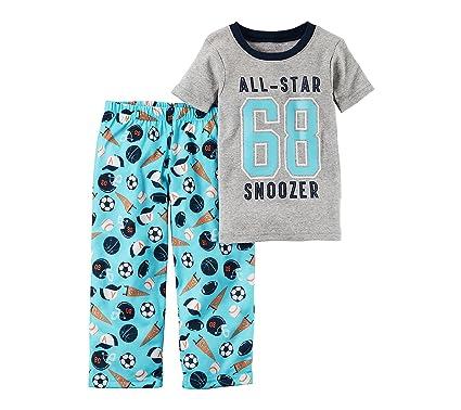 fc81cb284ca4 Amazon.com  Carter s Boys  12M-4T 2 Piece All Star Pajama Set  Clothing