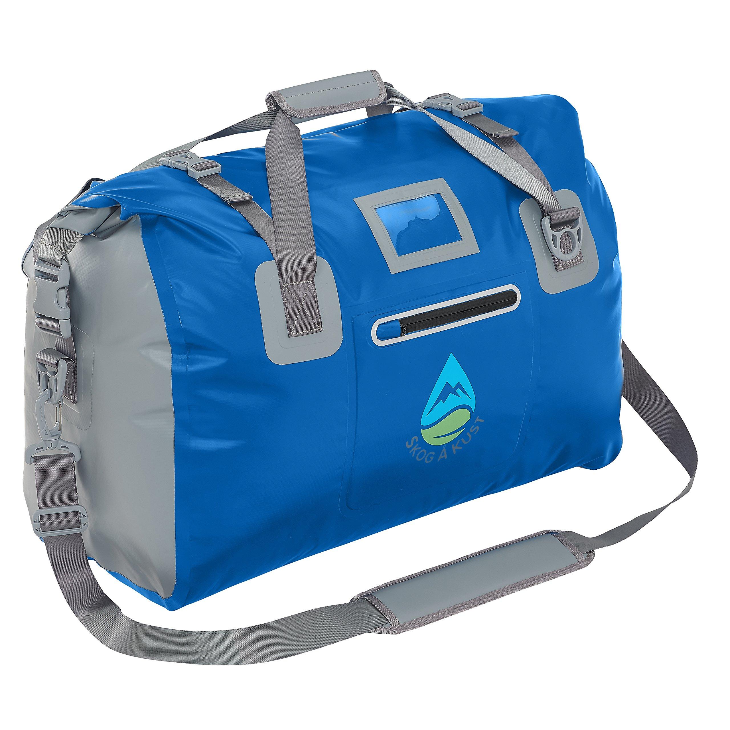 Skog Å Kust DuffelSåk Waterproof Duffle Bag | 40L Navy Blue by Skog Å Kust