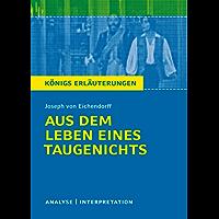 Aus dem Leben eines Taugenichts: Analyse/Interpretation (German Edition)