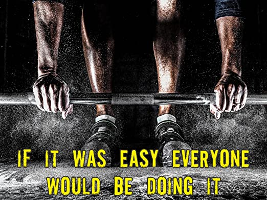 Amazon Com Workout Poster Inspirational Poster Motivational Poster 18x24 Posters Prints