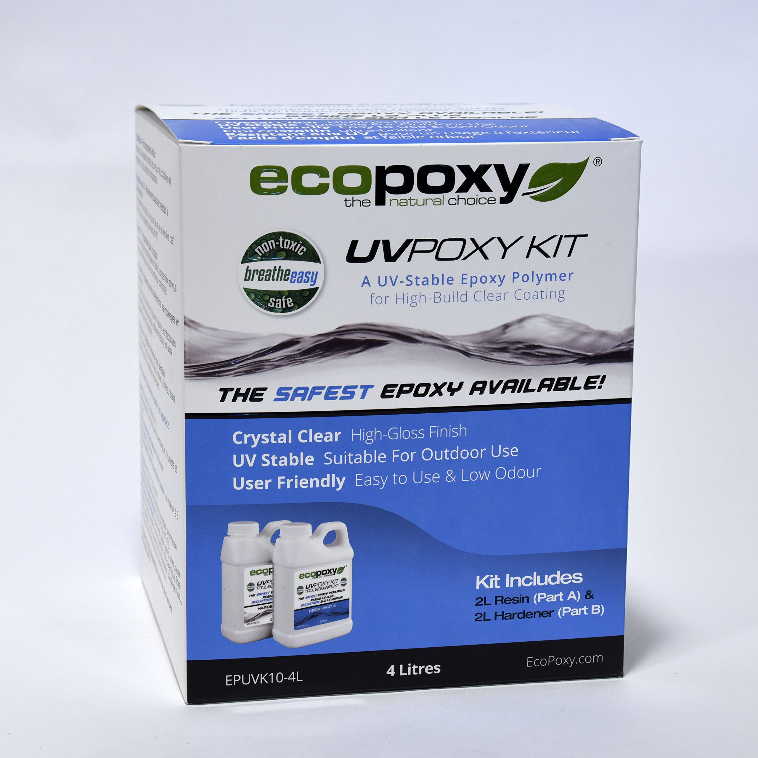 ECOPOXY UVPOXY KITS (4 Litres) by Ecopoxy (Image #1)
