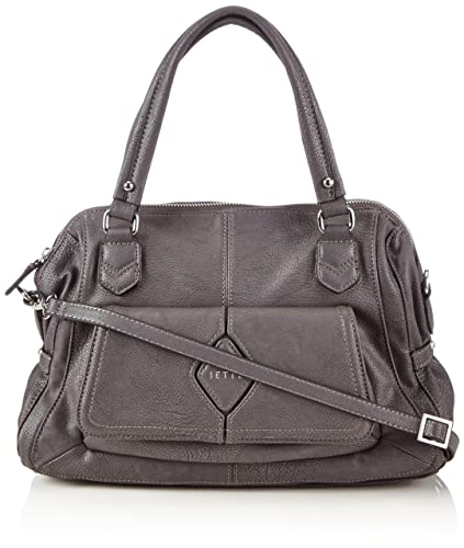 à Miss sacs Grau Handbag femme Gray main Gris Fox grey JETTE xIFaqZdwOO
