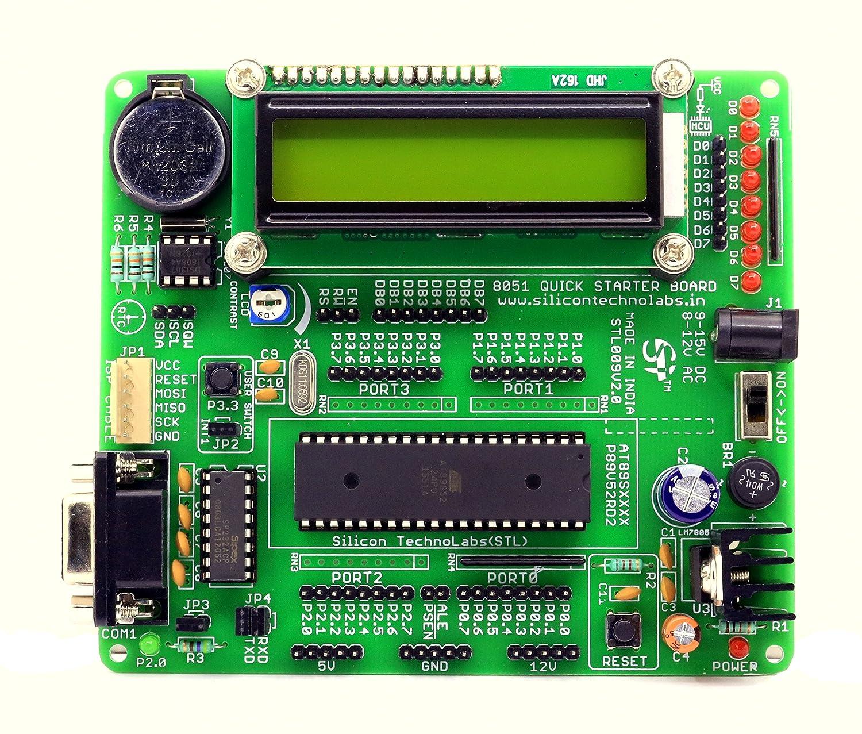 8051 Microcontroller Circuit Diagram At89s52 Circuit Diagram