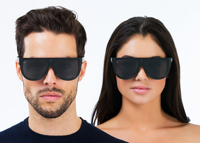 "0b0bd6c15c Amazon.com  PRIVÉ REVAUX ICON Collection ""The Coco"" Designer Oversized  Sunglasses  Clothing"