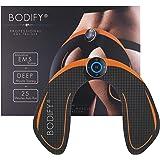 Bodify® EMS Trainingsgerät zur gezielten Stimulation der Po Muskulatur! - Muskelaufbau - EMS Hüfttrainer - Elektro Stimulationsgerät Po Muskeln - Fitness Training für Frauen DAS ORIGINAL