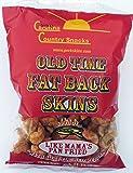 Old Time Fat Back Skins Chicharron Red Pepper 12