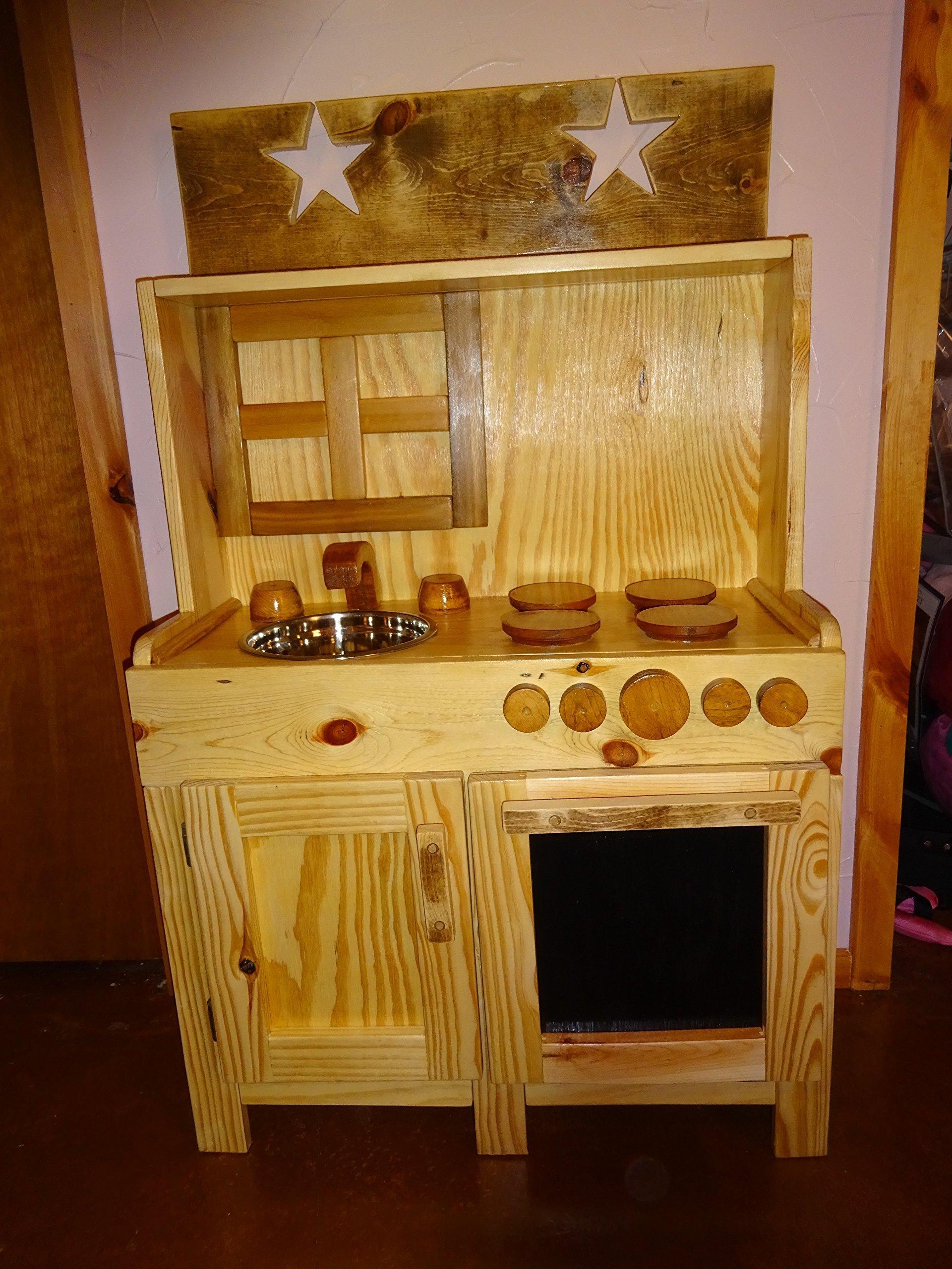 Child's Wood Kitchen