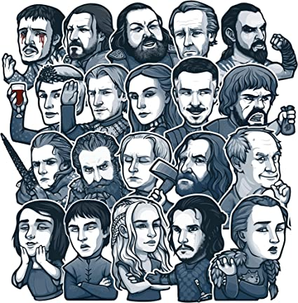 PC/'S etc GOT 25  Different  GAME OF THRONES  Art Stickers Laptop Skateboard